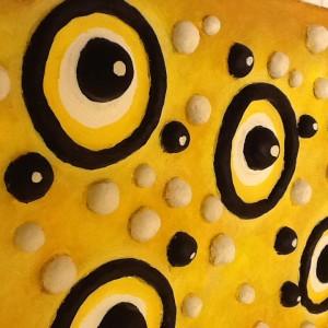 décors organique toilettes fresque bas relief  2
